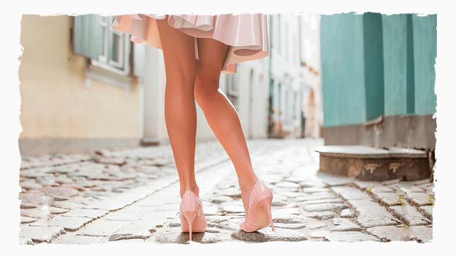 Как сделать ножки красивыми