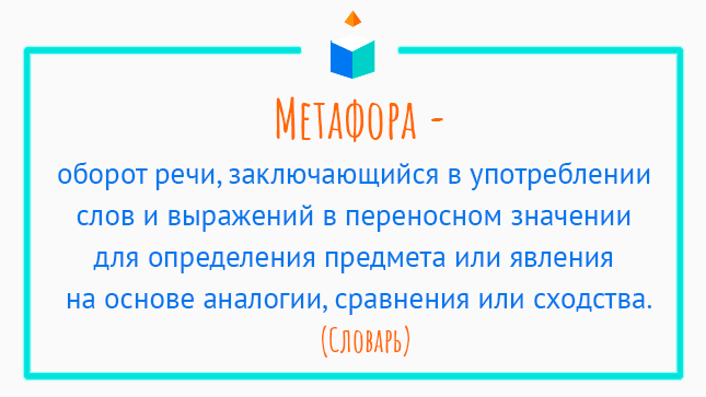 Определение слова метафора