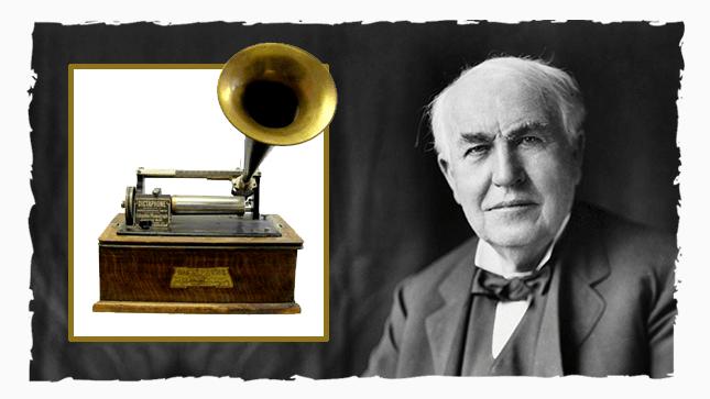 Диктофон Томаса Эдисона
