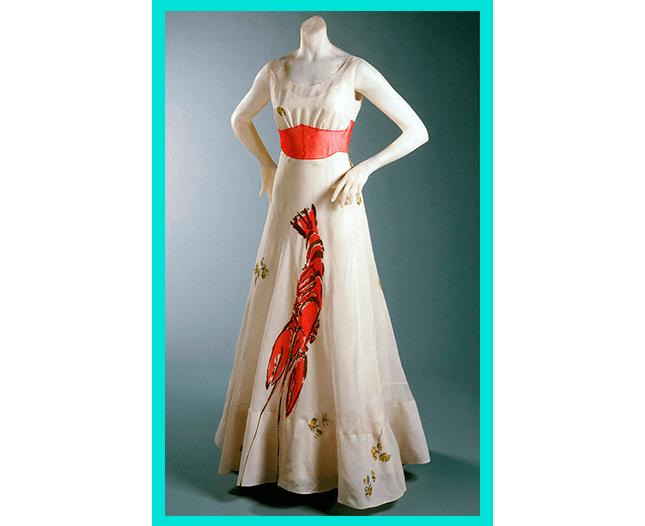 Платье с лобстером