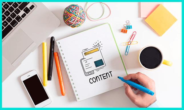 Контент маркетолог занимается продающим контентом