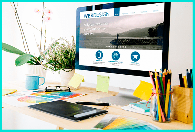 Дизайнер может заработать в сети на оформлении сайтов