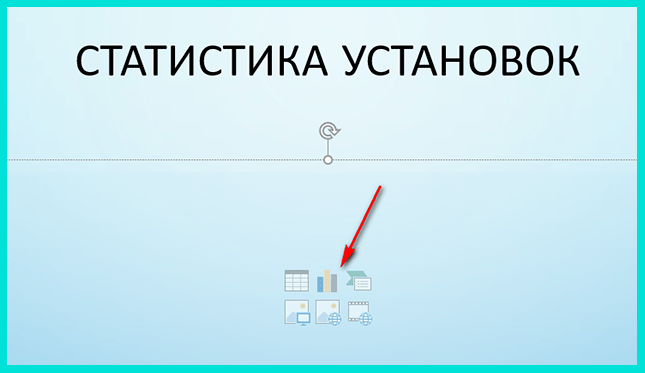 Нажимаем кнопку Добавление диаграммы