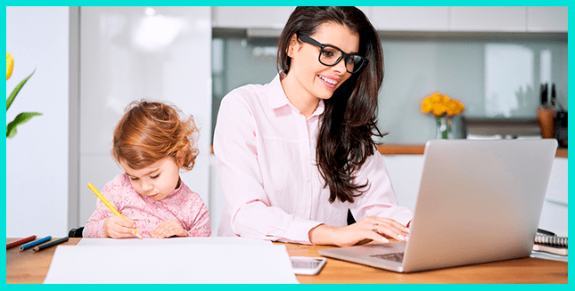 Зарабатывать на Кворк может даже мама в декрете