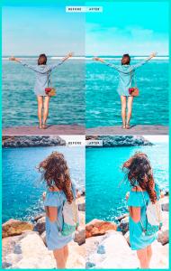 Пресет - набор настроек, оформляющий все фото в едином стиле