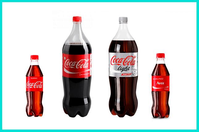 Успешное использование техники продаж компанией Coca-Cola