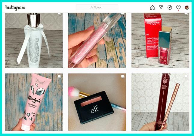 Как начать вести в Инстаграме блог  с обзорами косметики