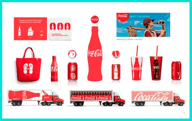 Брендирование Coca-Cola