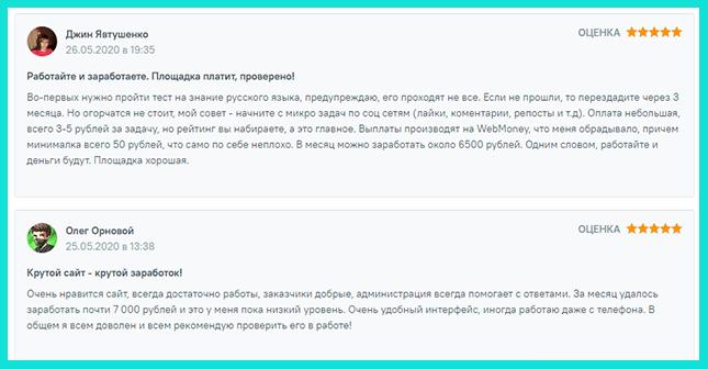 Отзыв о работе на Turbotext