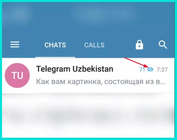 Счетчик просмотра в Телеграм-канале