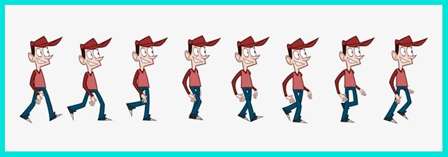 Традиционная покадровая анимация