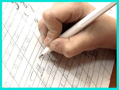 Вырабатываем красивый почерк у детей