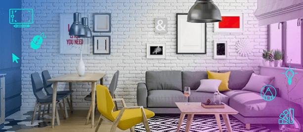 Как дизайнеры интерьера выбирают палитру цветов с помощью круга Иттена