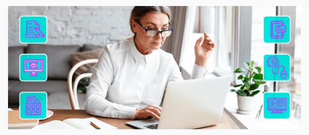 Удаленная работа из дома для пенсионеров: подходящие варианты работы без вложений